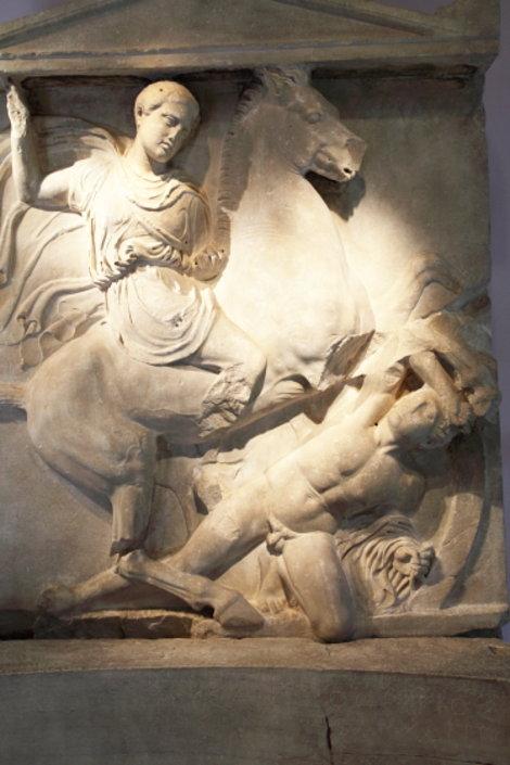 Керамейкос. Памятник Дексилеосу
