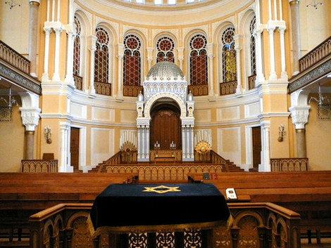 Внутри Синагоги.