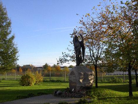 Памятник воинам, погибшим на Кавказе.