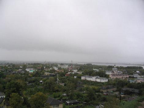 Тобольск с высот кремля