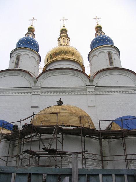 В кремле идет реставрация