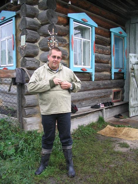 Викинг, приодетый для похода в тайгу
