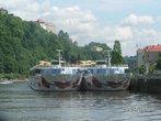 Кораблики влюблены в Дунай