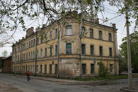 Жилой дом конца 19 в. на Михайловской улице.