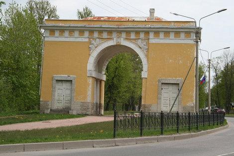 Городские ворота.