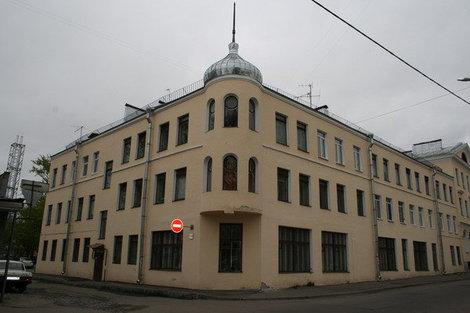 Дом на Петербургской улице.