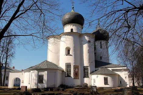 Антониев монастырь,храм Рождества Богородицы.