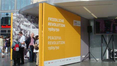 Название выставки: Мирная революция 1989-1990