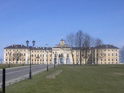 Константиновский дворец в Стрельне.