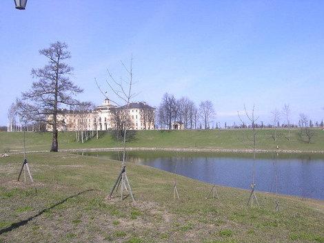 Пруд в Константиновском парке.