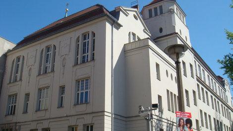 Больница Св.Хедвига. Новое здание