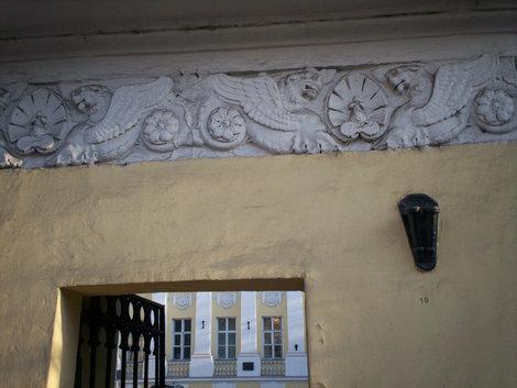 д.21, усадьба Долговых-Жемочкиных, офомление ворот
