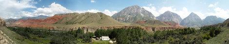 Долина Кызыл-Алай