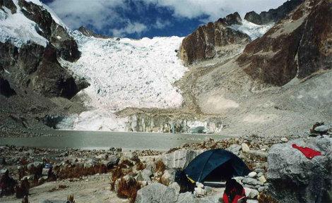 Лагерь у Ледникового озера (5038)