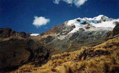 Панорама от перевала Рохо (слева)