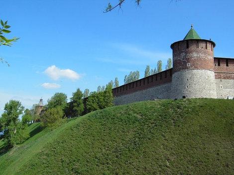 Кремль в Нижнем Новгороде.