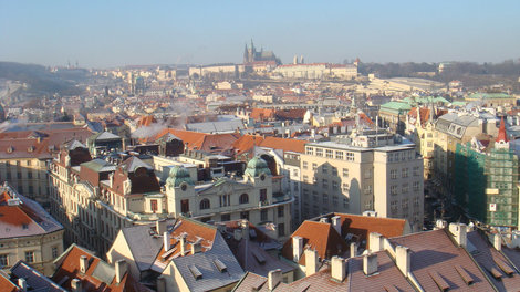 Вид с ратуши