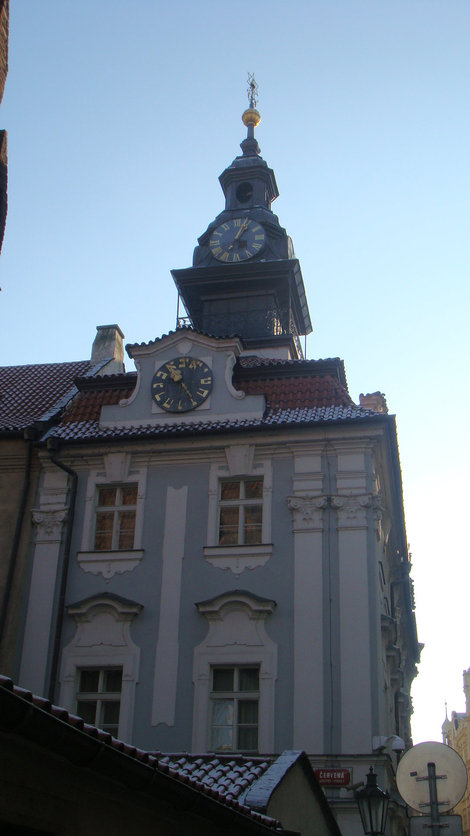 Еврейская ратуша с двумя часами