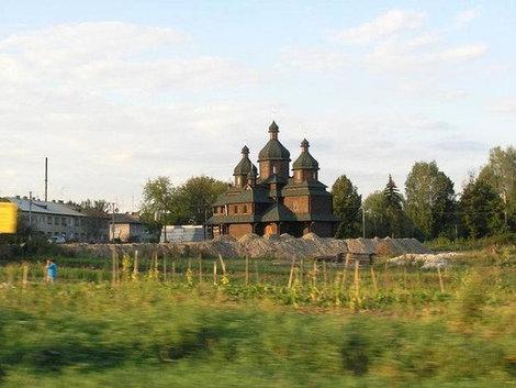 Новая церковь в Золочеве