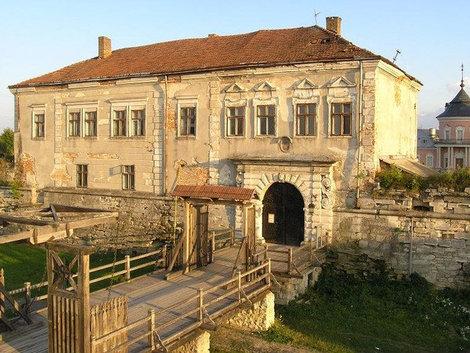 Замок в Золочеве