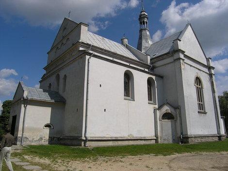 Костел в Бобрке
