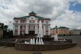 В красно-белом здании 7 января 1918 года был организован Саранский уездный комитет РСДРП.