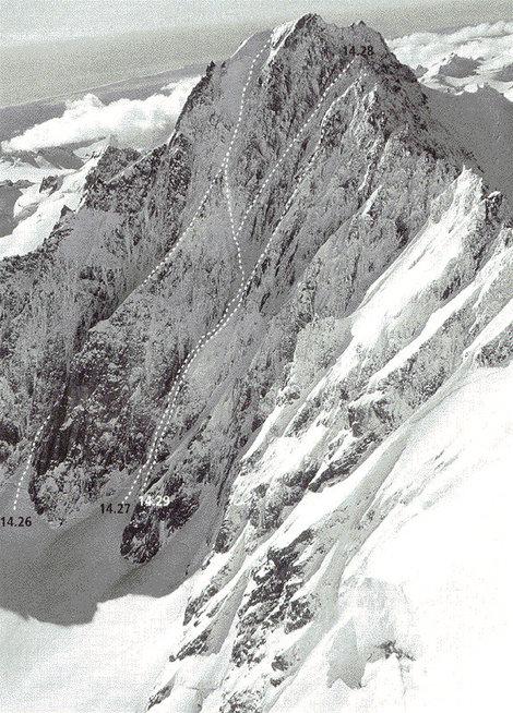 Южная стена горы Даглас
