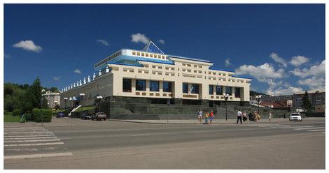 Национальный театр Горно-Алтайска