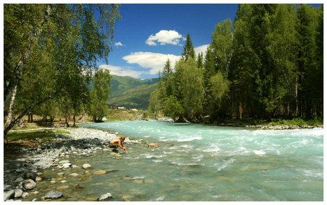 Река Кучерла у одноименного села