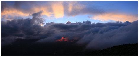 Закат. Вид с Кара-Тюрека