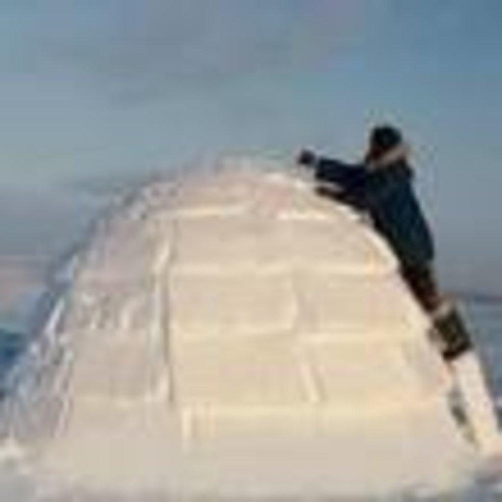 Как сделать дом на севере