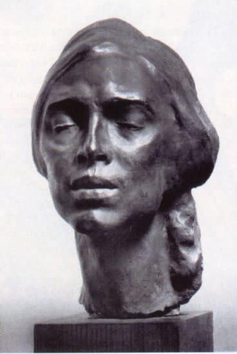 Норвежская женщина. 1914. Гипс, фото из инета