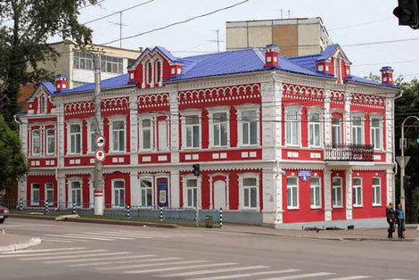 Музей находится в старинном здании.