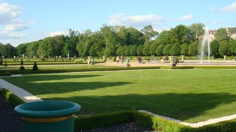 Парк дворца Шарлоттенбург