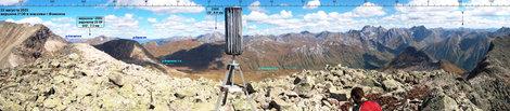 Часть панорамы с вершины 2136. Фото С.Завьялова