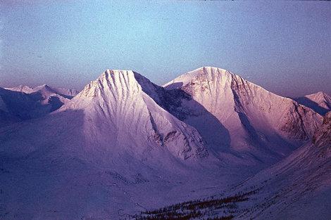 Фото 19. г.Трапеция, зимний рассвет