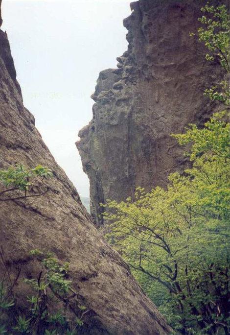 Кулуары горы Индюк