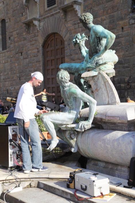 Мужской разговор (фонтан Нептуна)