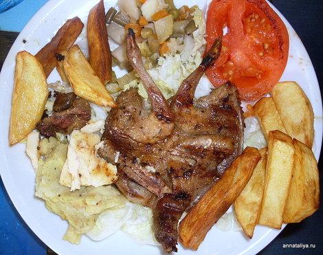 Египетское деликатесное блюдо хаммам — жареный голубь.
