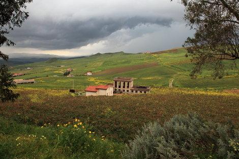 Пейзажи в окрестностях Корлеоне