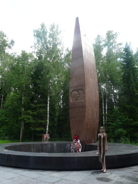 Здесь погибли Гагарин и Серёгин :(