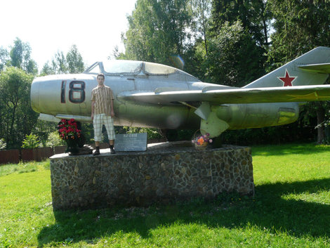 Самолёт под г.Киржач