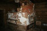 Печка в старом доме 1900 года постройки.
