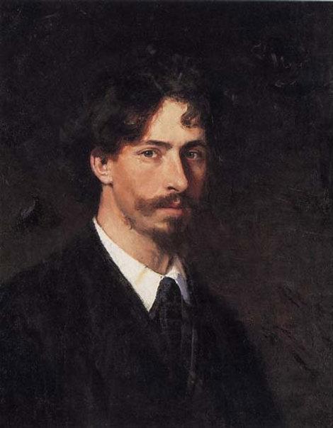 Автопортрет И.Е. Репина.