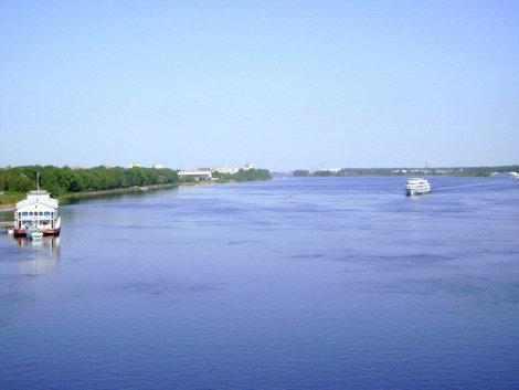 Рыбинск. Речной простор