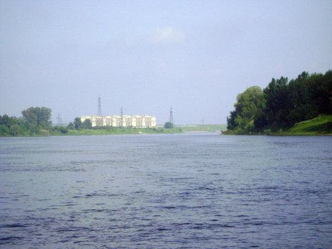 Рыбинск. Рыбинская ГЭС и река Шексна