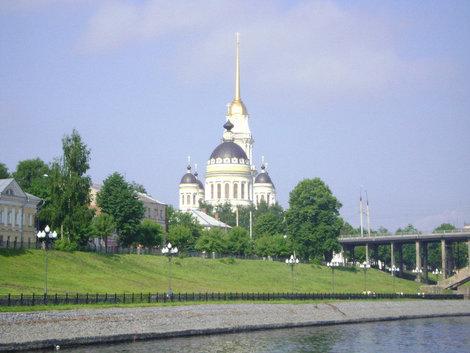 Символ Рыбинска. Спасо-Преображенский собор — доминанта города