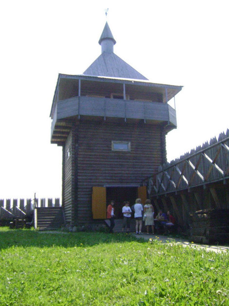 Усть-Шексна — предтеча Рыбинска. Сторожевая башня образца XI века (реконструкция)