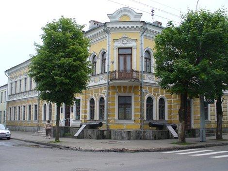 15. Улица Карла Маркса. Брестский областной краеведческий музей