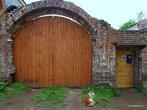 Яранск. Ворота жилого дома